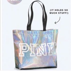 NWT REUSABLE PINK BAG FROM VS